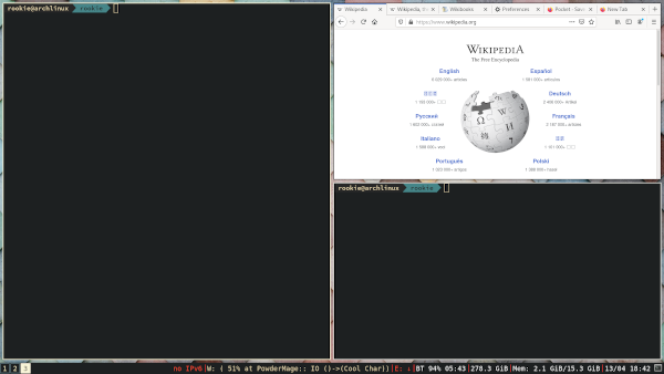 firefox with tabs